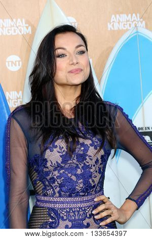LOS ANGELES - JUN 8:  Christina Ochoa at the Animal Kingdom Premiere Screening at the The Rose Room on June 8, 2016 in Venice Beach, CA