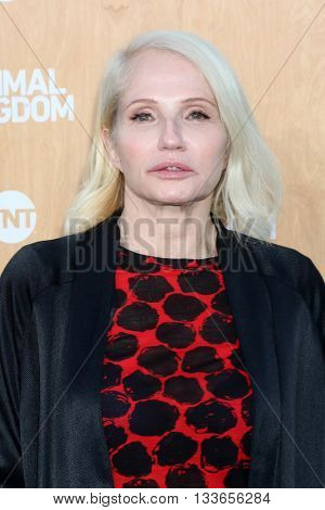 LOS ANGELES - JUN 8:  Ellen Barkin at the Animal Kingdom Premiere Screening at the The Rose Room on June 8, 2016 in Venice Beach, CA