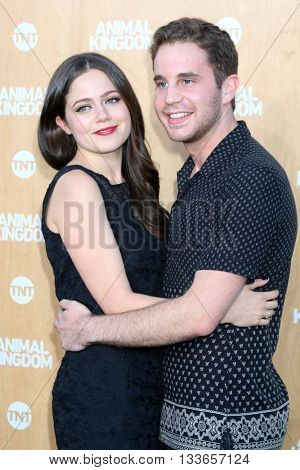 LOS ANGELES - JUN 8:  Molly Gordon, Ben Platt at the Animal Kingdom Premiere Screening at the The Rose Room on June 8, 2016 in Venice Beach, CA