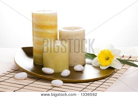 Set de velas Aroma terapia