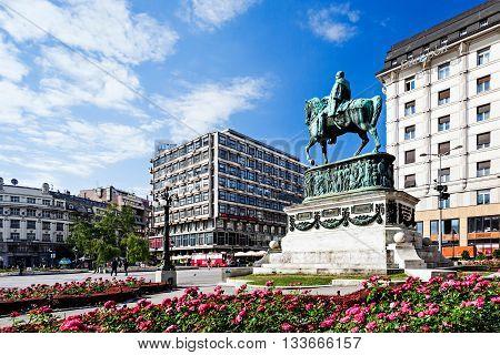 Prince Michael Statue