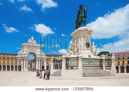 Commerce Square, Lisbon