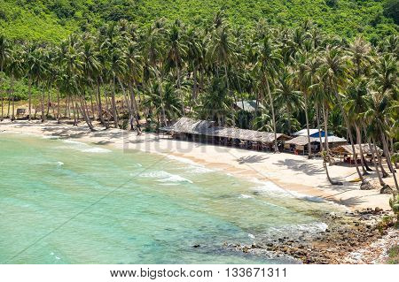 Nam Du island in beauty weather. KIEN GIANG, VIETNAM