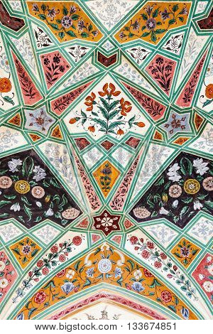 Pattern On The Palace, Jaipur
