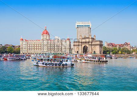 Taj Mahal Hotel And Gateway Of India