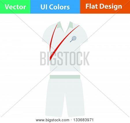 Tennis Man Uniform Icon