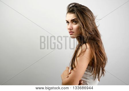 Woman With Condemned Look