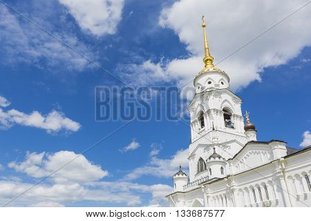 Assumption cathedral at Vladimir in summer UNESCO World Heritage Site Vladimir Russia.