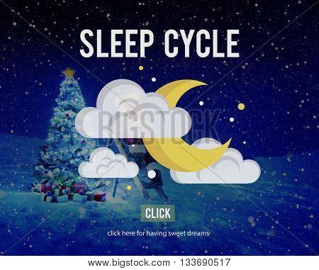 Sleep Cycle Human Sleeping Resting Concept