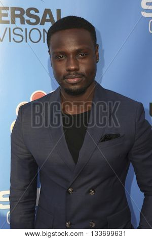 LOS ANGELES - JUN 9:  Dayo Okeniyi at the Shades of Blue Television Academy Event at the Saban Media Center on June 9, 2016 in North Hollywood, CA