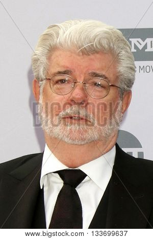 LOS ANGELES - JUN 9:  George Lucas at the American Film Institute 44th Life Achievement Award Gala Tribute to John Williams at the Dolby Theater on June 9, 2016 in Los Angeles, CA