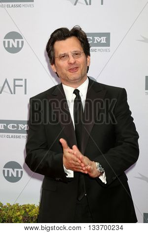 LOS ANGELES - JUN 9:  Ben Mankiewicz at the American Film Institute 44th Life Achievement Award Gala Tribute to John Williams at the Dolby Theater on June 9, 2016 in Los Angeles, CA
