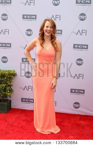 LOS ANGELES - JUN 9:  Katie Leclerc at the American Film Institute 44th Life Achievement Award Gala Tribute to John Williams at the Dolby Theater on June 9, 2016 in Los Angeles, CA