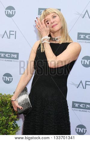 LOS ANGELES - JUN 9:  Kate Capshaw at the American Film Institute 44th Life Achievement Award Gala Tribute to John Williams at the Dolby Theater on June 9, 2016 in Los Angeles, CA