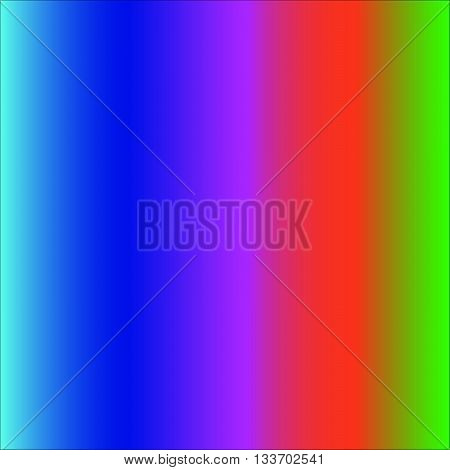 cold primary colors shaded in a vector