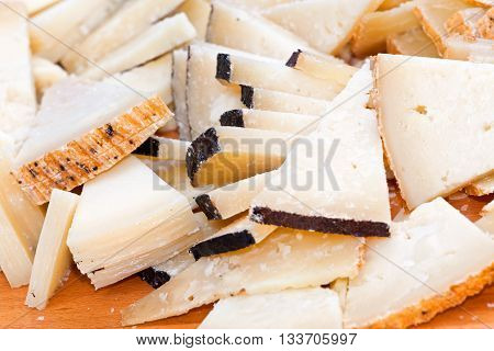 Buffet With Pecorino Cheese