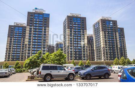 Almaty - Residential High-rise Buildings