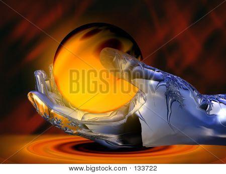 Lava Hand