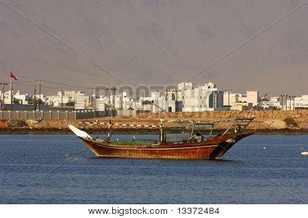 Arabian fishing boat