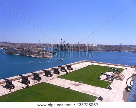 Malta island fantastic mediterranean sea and good holidays in Europe