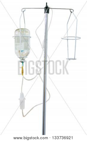 equipment intravenous drip medication in the hospital.