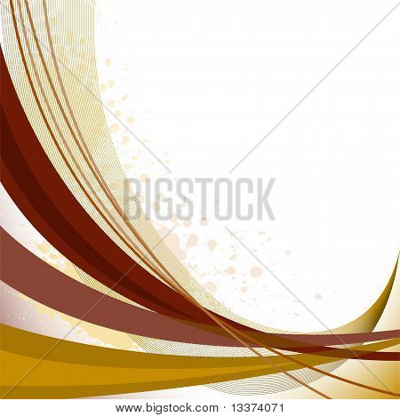 Abstract Brown Lines