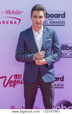 LAS VEGAS - MAY 22 : Internet personality Gabriel Conte attends the 2016 Billboard Music Awards at T-Mobile Arena on May 22 2016 in Las Vegas Nevada.