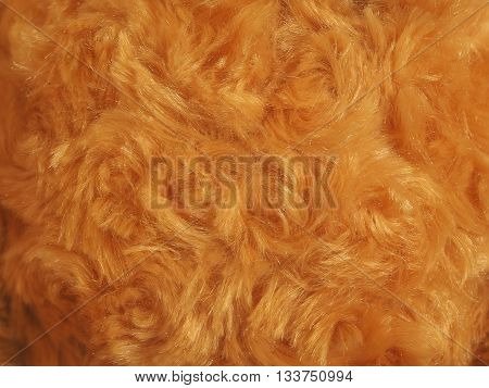 Luxurious brown gold wool texture for background