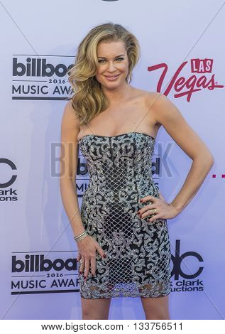 LAS VEGAS - MAY 22 : Actress/model Rebecca Romijn attends the 2016 Billboard Music Awards at T-Mobile Arena on May 22 2016 in Las Vegas Nevada.