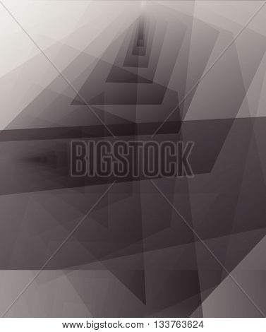 Abstract Greyscale Background. Space For Text And Message Modern Artwork Design