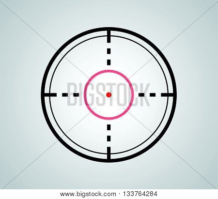 Crosshair, reticle, viewfinder, target graphics vector 1