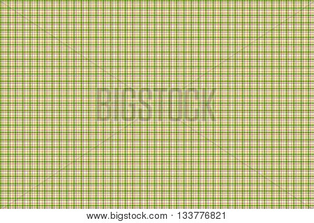 plaid pattern design in green with accents, simple seamless plaid pattern