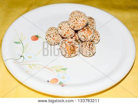 original finger food of Italian fine cuisin