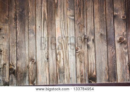 wood strips wall as a plane background