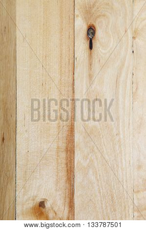 Texture of wooden slats as a backdrop.