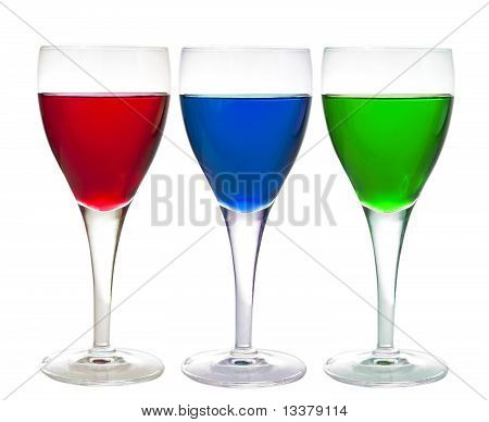 Three Liqueur Drinks