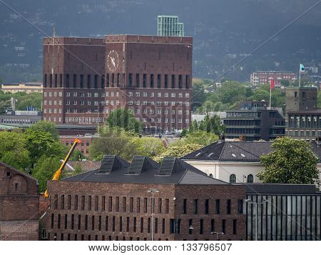 the City of oslo, the capital of norway