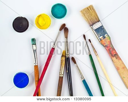 Art Equipment And Watercolours