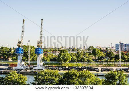 Infrastructure Port Of Gdansk.