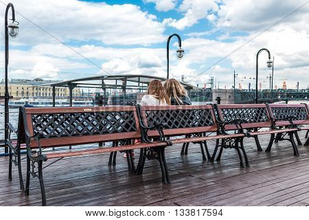 Pier On Neva