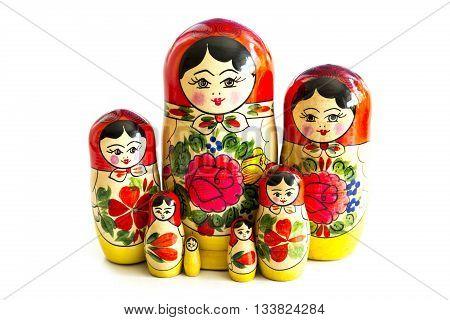 Traditional Russian Matryoshka Dolls