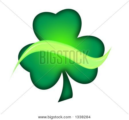 Shamrock With Swoosh