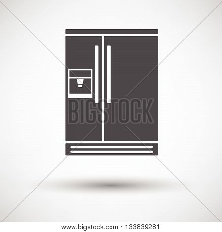 Wide Refrigerator Icon