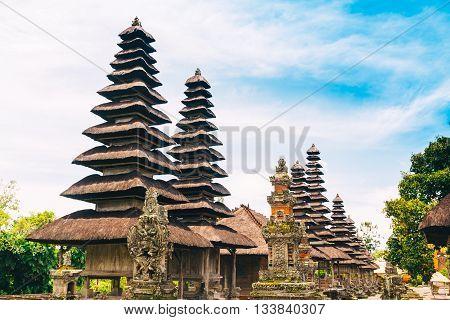 Pura Taman Ayun, Beautiful Temple at Bali, Indonesia