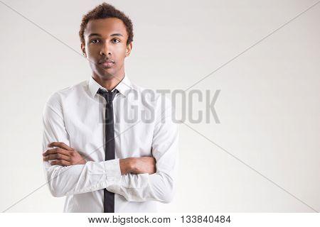 African American Guy Portrait