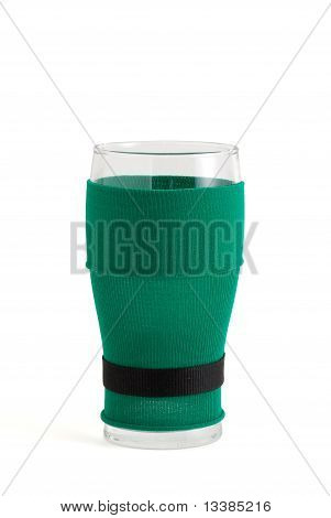 St Patrick Beer Glass
