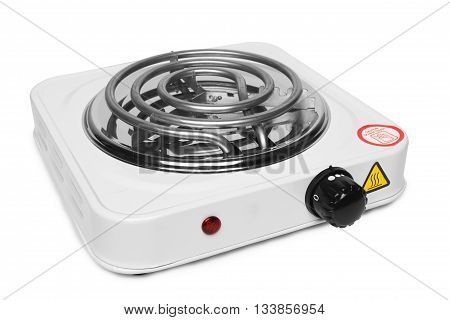 stove electric isolated on a white background