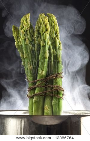 Asparagus ready for cooking