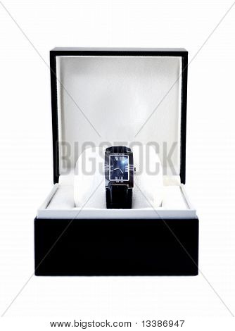 Luxury Watch In Black Box
