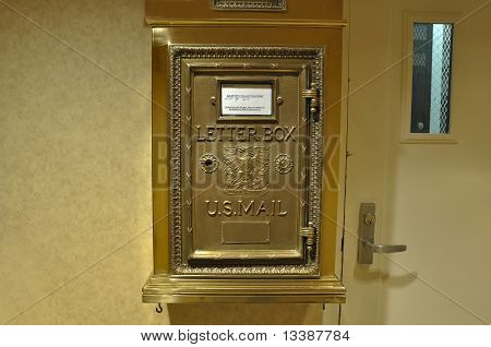 US Mail Letter Box